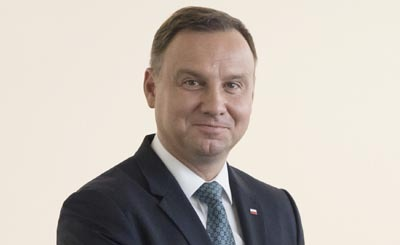 Президент Польши Анджей Дуда © Михаил Палинчак / пресс-служба президента Украины / ТАСС. Предоставлено Фондом ВАРП
