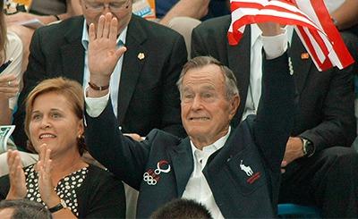 Джордж Буш-старший © Виталий Белоусов /ТАСС. Предоставлено Фондом ВАРП